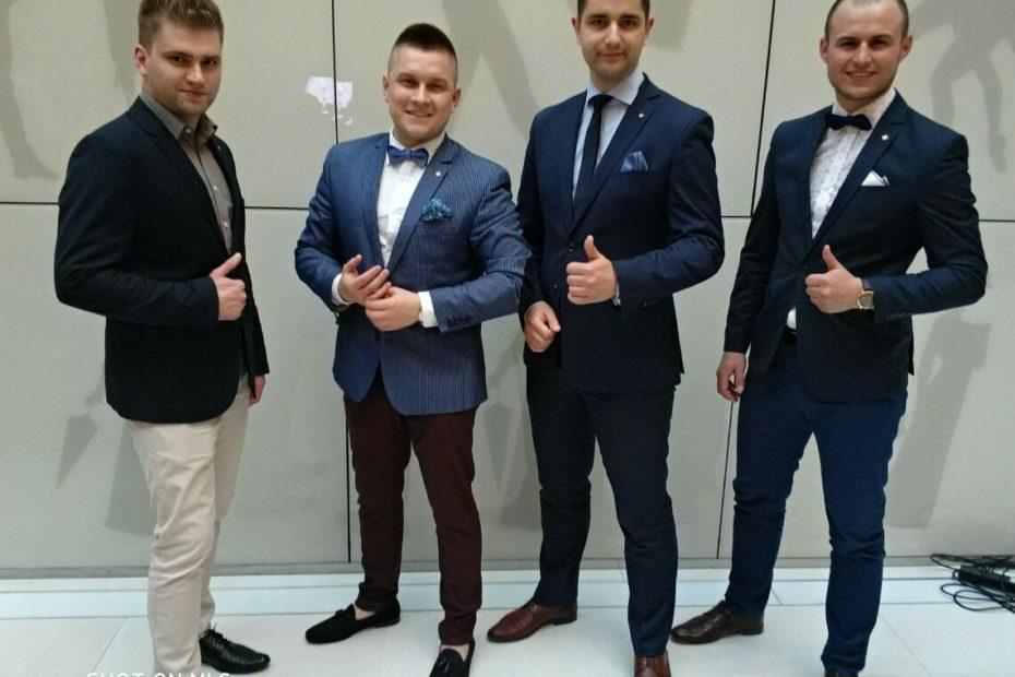 Z 3 dyrektorami z mojego zespołu